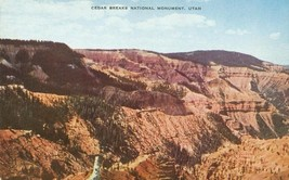 Cedar Breaks National Monument, Utah, unused Postcard  - $4.50
