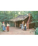 Cherokee Indian Village, Cherokee, NC, unused Postcard  - $3.99