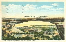 Edwin Natural Bridge, San Juan County, Utah, 1935 used Postcard  - $3.50