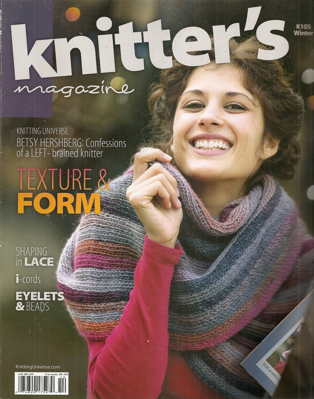 Primary image for KNITTERS  ISSUE 105 WINTER