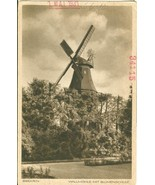 Germany, Bremen, Wallmuhle mit Blumenschule 1931 marked unused Postcard  - $4.99