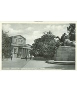 Germany, Darmstadt. Denkmal des Leibgarde-Regiments 115 u Theater Real P... - $8.25