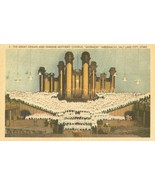 The Great Organ and Singing Mothers, Mormon Tabernacle, Salt Lake City, ... - $4.99