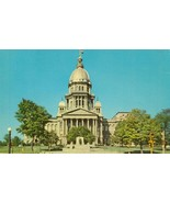 Illinois State Capitol, Springfield Illinois, unused Postcard  - $3.99