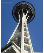 "SEATTLE SPACE NEEDLE WASHINGTON Photo Picture Print 4X6, 5X7, 8X10, 8.5X11"" - $7.50+"