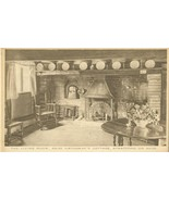The Living Room, Anne Hathaway's Cottage, Stratford on Avon early 1900s ... - $4.50