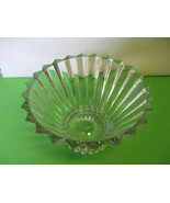 Rosenthal Glass Crystal Blossom 10 Fluted Servi... - $84.99