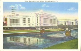 New General Post Office, Philadelphia, Pa 1935 used Postcard  - $4.50