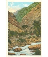 Ogden Canyon, Utah 1920s unused Postcard - $3.99