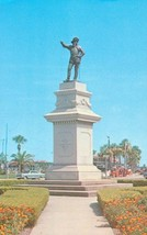 Ponce De Leon Monument and Circle, Oldest City USA, St. Augustine, Florida 1960s - $4.99