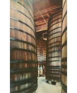 Redwood Storage Tanks in Cellars of the Italian Swiss Colony Winery, Asti, - $3.99