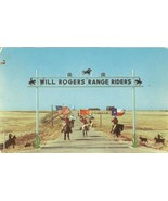 Will Rogers Range Riders, Texas 1950s used Postcard - $4.99
