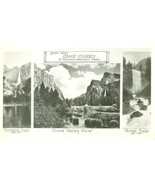 Scenes near Camp Curry, in Yosemite National Park, Real Photo RPPC Postcard - $4.99