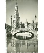 Spain, Sevilla, Plaza de Espana, unused Postcard  - $5.99