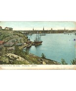 Sweden, Entrance from the Ocean, Stockholm, early 1900s unused Postcard  - $4.99
