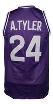 A.Tyler #24 HuskiesThe 6th Man Movie Basketball Jersey Sewn Purple Any Size image 4