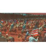 Texas Cowboys and Cowgirls, unused Postcard  - $5.99