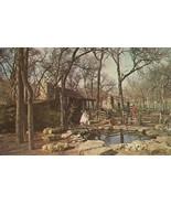 Texas Log Cabin Village, Forest Park, Fort Worth, Texas unused Postcard  - $4.99
