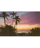 Treasure Island Sunset, Florida, unused Postcard - $3.99