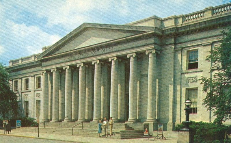 U.S Post Office, York, Pa 1962 marked unused Postcard