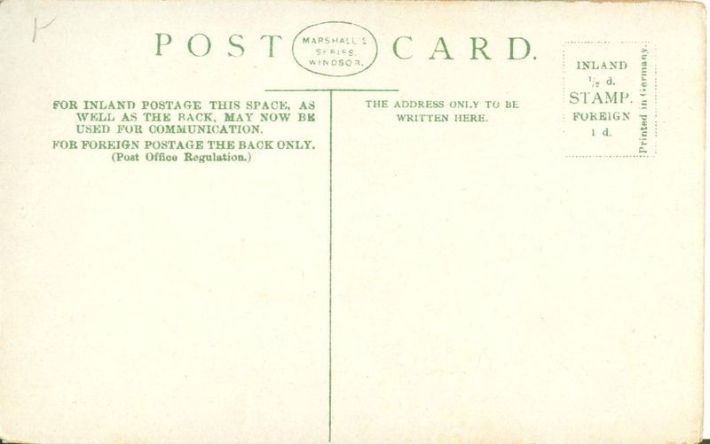 UK Windsor Castle, St. Georges Chapel Choir early 1900s unused Postcard