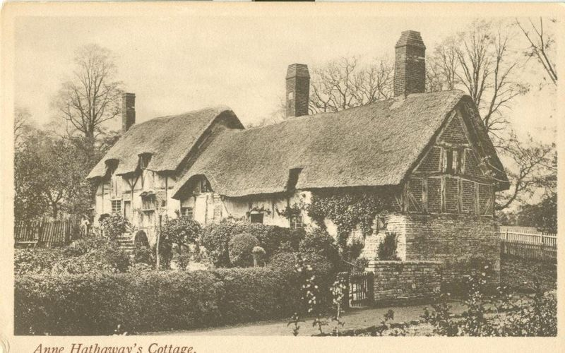 United Kingdom, Anne Hathaway's Cottage, Stratford, early 1900s Postcard