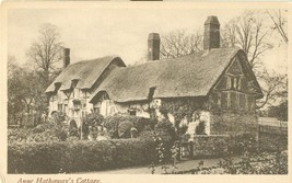 United Kingdom, Anne Hathaway's Cottage, Stratford, early 1900s Postcard - $3.99