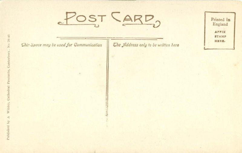 United Kingdom, Canterbury, St. Martin's Church, early 1900s unused Postcard
