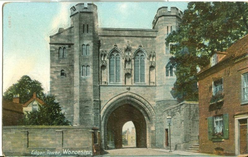 United Kingdom, Edgar Tower, Worcester, early 1900s unused Postcard