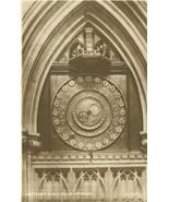 United Kingdom Lightfoot's Clock, Wells Cathedral unused Real Photo Post... - $4.99