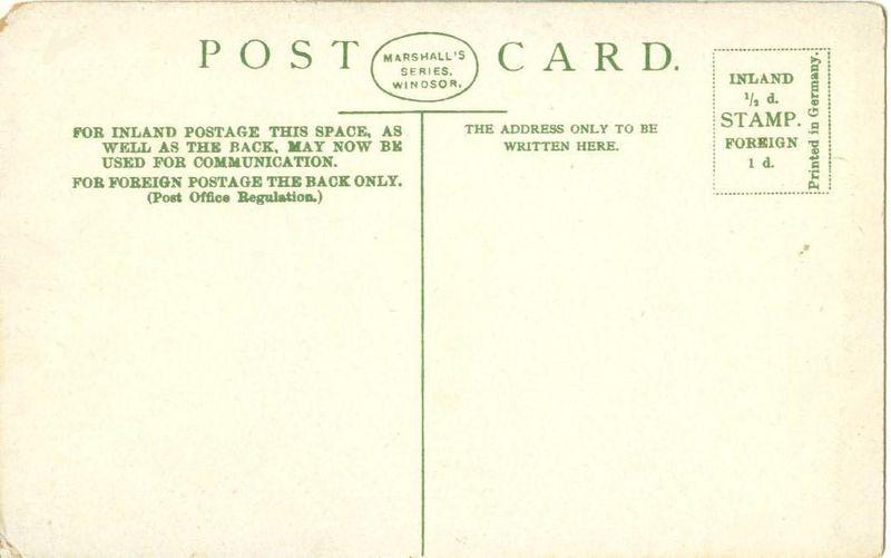 United Kingdom, The Roman Gateway, Windsor Castle, early 1900s unused Postcard