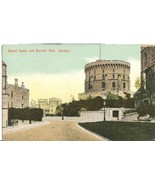 United Kingdom Round Tower and Norman Gate, Windsor early 1900s unused P... - $4.25