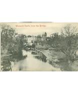 United Kingdom, Warwick Castle from the Bridge, early 1900s unused Postc... - $3.99