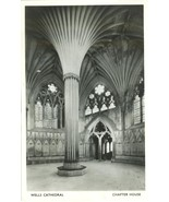 United Kingdom Wells Cathedral, Chapter House, 1959 used Real Photo post... - $4.99