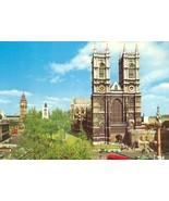 United Kingdom, Westminster Abbey, London 1960s unused Postcard  - $3.99
