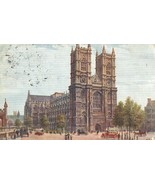 Westminster Abbey, London, early 1900s used Postcard  - $4.50