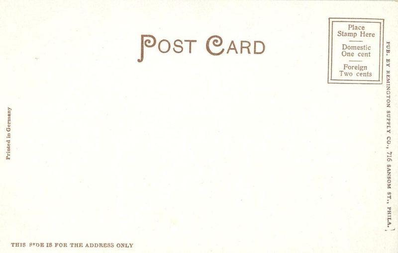 William Penn's House, Fairmount Park, Philadelphia, Pa, early 1900s Postcard