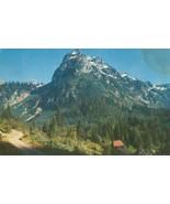 Willman Peak and Monte Cristo, Wash, 1956 used Postcard  - $4.35