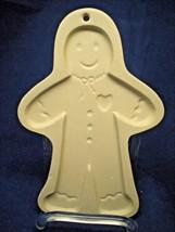 Brown Bag Gingerbread Boy Cookie Chocolate & Art/Wax  Mold 1997 - $9.90
