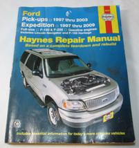 Haynes Repair Manual 36059 Ford Pick Ups 1997-2003 Expedition 1997-2009 ... - $22.51