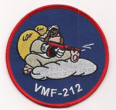 Primary image for USMC VMF-212 Marine Fighter Attack Squadron 212 War II Style Patch