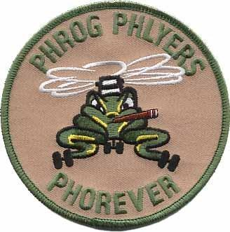 Primary image for USMC PHROG PHLYERS PHOREVER CH-46 Patch