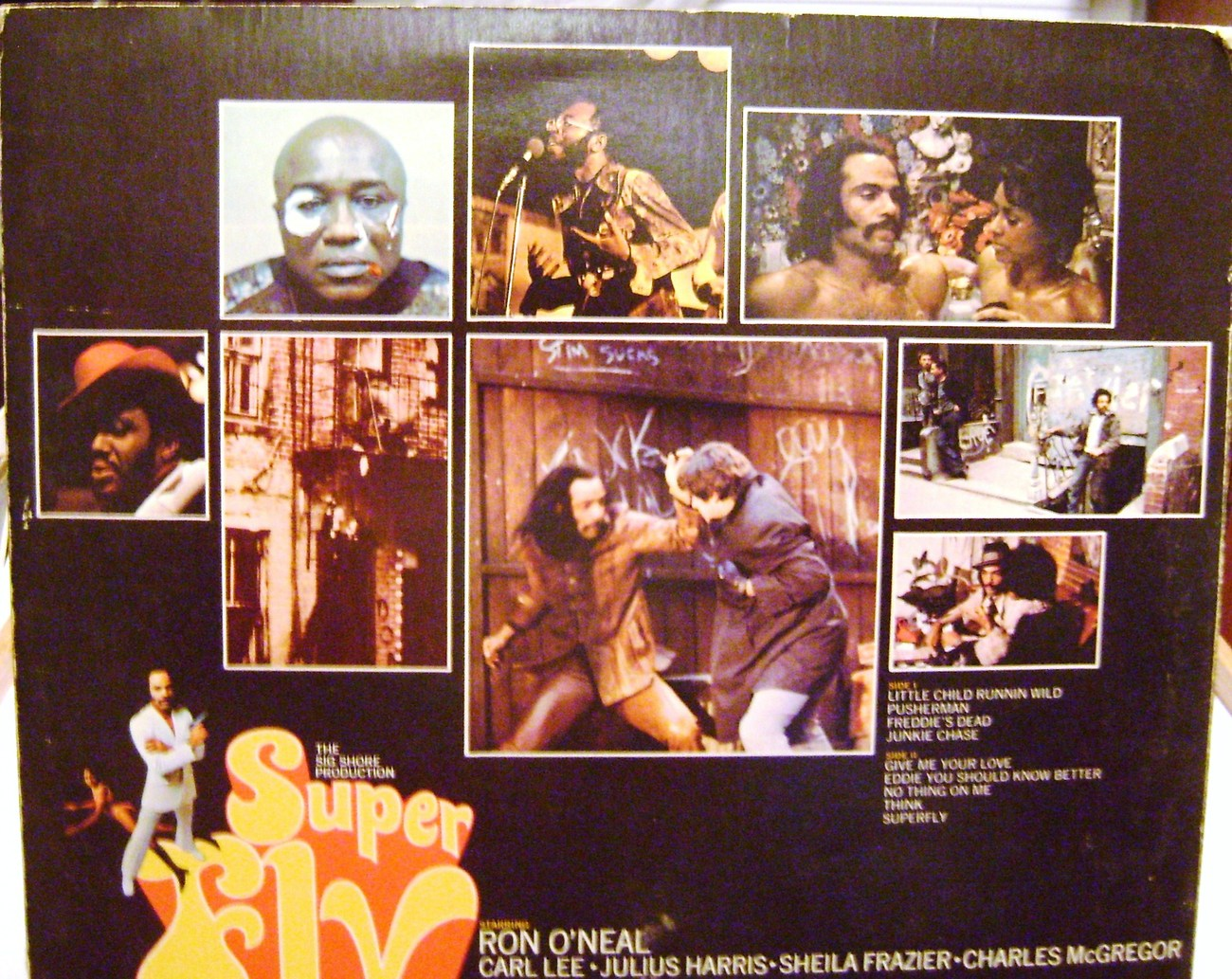 Super Fly LP Record by Curtis Mayfield