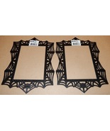 "Halloween Wooden Black Frames Crafts Creatology 11"" x 8"" 6 1/2"" x 4 1/2""... - $6.49"