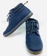 """Dr. Martens Women's Navy Blue/Black """"Belmont"""" High Top, Lace Up Shoes Size 8 EUC - $42.65"""