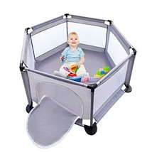 Baby Playpen, Baby Fence Play Area Indoor, Play Yard for Baby, Activity ... - $97.99+