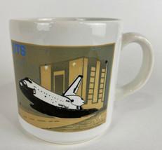 1989 SPACE SHUTTLE Orbiter Thermal COFFEE MUG CUP GRUMMAN LOCKHEED NASA ... - $14.80