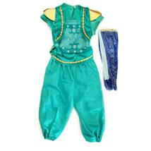 Rubies Shimmer & Shine Costume 2-4 years Teal Jumpsuit & Headpiece Prete... - $15.00