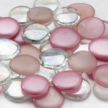 Pink Glass Signing Stones Wedding Guest Book Alternative [Pink] - $7.00