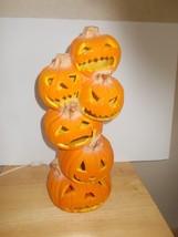 Stackable Jack O Lantern Pumpkins Blow Mold - $19.99